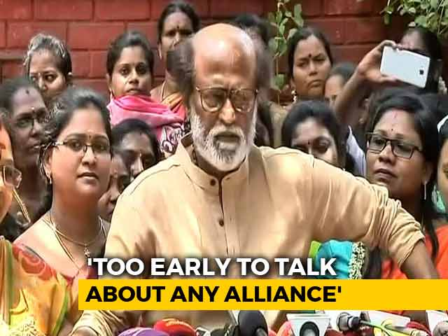"""Video : """"Ready For Anything"""": Rajinikanth's Take On 2019 General Elections"""