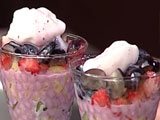 Video: Fresh fruit parfait