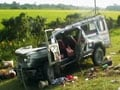 Video : 30 killed in Assam, two buses flipped over, driver missing