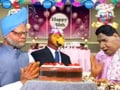 Video: Politicians celebrate 50th birthday of 'parrot' CBI