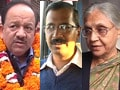 Video : Battle for Delhi: The big three on the campaign trail