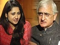 Video: Mistake to make RK Singh Home Secretary: Salman Khurshid to NDTV