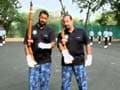 Video: Jai Hind: Rocky & Mayur meet the IAF Air Warrior Drill Team