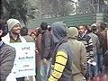 Video : राहुल के घर के बाहर यूपीएससी परीक्षार्थियों का धरना