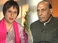 Video: Government must bring order in Parliament if it wants BJP support on Telangana: Rajnath Singh to NDTV