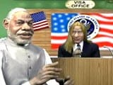 Video: Narendra Modi's unrelenting struggle to get a US visa