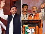 Video: Akhilesh Yadav-Narendra Modi 'cat'fight