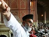 Video: Shahi Imam endorsing Congress: will it work for the party?