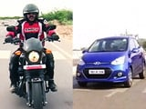 We ride the Harley Davidson Street 750 & test the new Hyundai Xcent