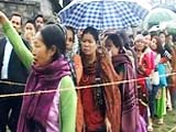Video : Lok Sabha elections: Moderate to high turnout in four northeastern states in phase 2