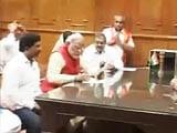 Video: Narendra Modi files nomination in Vadodara after grand roadshow