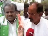 Video: Election 2014: Clash of the two former Chief Ministers in Karnataka
