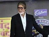 Video : Big B begins promo shoot for <i>KBC</i> 8