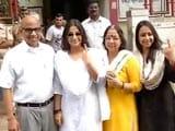 Video : One should vote before complaining: Vidya Balan