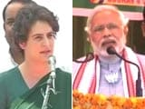 Video : Priyanka vs Modi: war of words continues