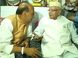 Video : Congress veteran ND Tiwari endorses Rajnath Singh