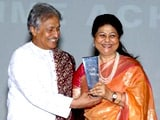 Video : Amjad Ali Khan wins Lifetime Achievement award