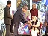 Video : Satish Gujral honoured with Lifetime Achievement Award