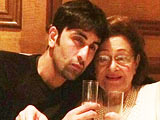 Video : Ranbir Kapoor Spends Quality Time With Grandmother