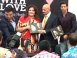Video : Hrithik Roshan Launches a Book on Rakesh Roshan in New Delhi