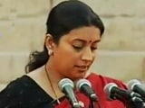 Video: Smriti Irani on the Education Challenges that Need to be Tackled