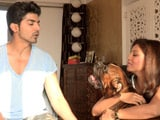 Video: Heavy Petting All Stars: Meet Gurmeet Choudhary, Debina Banerjee and Their Pet Dexter