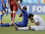 Video : World Cup 2014: Luis Suarez' Biting Antics Kick Up Twitter Storm