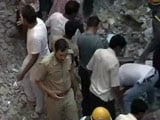 Video : 7 Killed After 4-Storey Building Collapses in Delhi