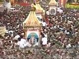Videos : अहमदाबाद में शुरू हुई भगवान जगन्नाथ की रथ यात्रा