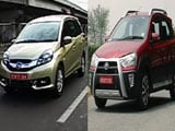 Video : Honda Mobilio, Toyota Etios Cross, Facelifted Ford Fiesta & 1.0 Hyundai Eon