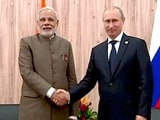 Video : रूस के राष्ट्रपति पुतिन से मिले प्रधानमंत्री नरेंद्र मोदी