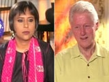 Video: Watch: Impressed with Narendra Modi's Economic Policies - Bill Clinton to NDTV