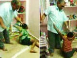 Video : Young Children Beg Adult, Allegedly Their Teacher, to Spare Them