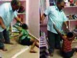 Video : आंध्र प्रदेश में तीन नेत्रहीन बच्चों की बेहरमी से पिटाई