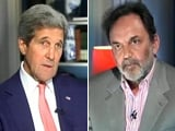 Video: Watch: Different Government Turned Down Modi's Visa, We Will Welcome Him - Kerry to NDTV