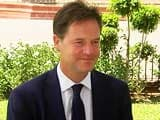 Video : NDTV Exclusive With British Deputy Prime Minister Nick Clegg