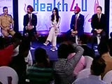Video : NDTV-Fortis Launches Health4U Campaign