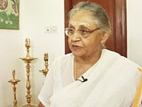 Video: I Want a Full Stop for Myself in Delhi Politics: Sheila Dikshit to NDTV