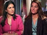 Video: Watch: The NDTV Dialogues with Melinda Gates - The Art Of Giving
