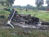 Video : 3 Army Officers Die in Helicopter Crash in UP