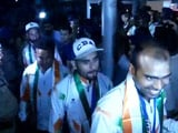 Asian Games 2014: Indian Hockey Team Returns Home to Heroes' Welcome