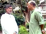 Video: Walk The Talk With Nobel Winner Kailash Satyarthi