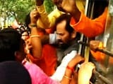 Video : On Way to Violence-Hit West Bengal Village, BJP Parliamentarians Arrested