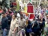 Video : अमन के बीच निकला ताजिए का जुलूस