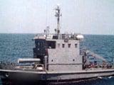 Video : Naval Vessel Sinks Outside Vizag Harbour, 1 Dead, 4 Missing