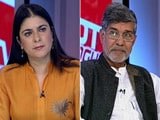 Video : The NDTV Dialogues with Kailash Satyarthi