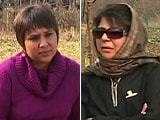 Video : No Possibility of Alliance With BJP: Mehbooba Mufti to NDTV