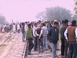 Video : 5 Children Killed as Train Crashes into School Van in Uttar Pradesh