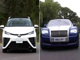 Toyota Mirai FCV & Rolls-Royce Ghost Series II Exclusives