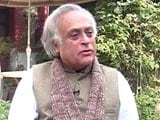 Video : Signals That Ecological Laws Being Diluted Under Current Government Worrying: Jairam Ramesh to NDTV